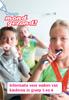 Hou je mond gezond! Informatie voor ouders van kinderen in groep 5 en 6