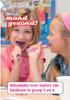 Hou je mond gezond! Informatie voor ouders van kinderen in groep 3 en 4